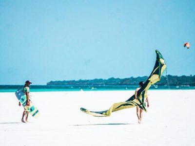 Kite Surfing in Diani Beach
