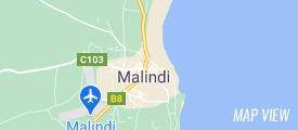 Map of Mombasa Beach